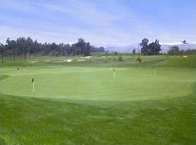practice area at Sterling Hills Golf Club